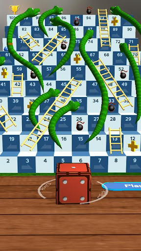Snakes and Ladders, Slime - 3D Battle screenshots 6