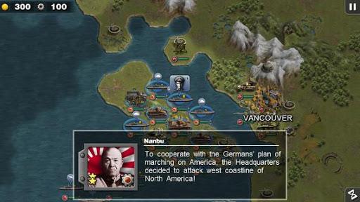 Glory of Generals :Pacific HD apktreat screenshots 1