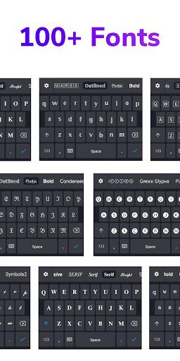 FontBoard - Font & Emoji Keyboard 1.3.2 Screenshots 4