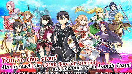 Code Triche Sword Art Online: Integral Factor (Astuce) APK MOD screenshots 1