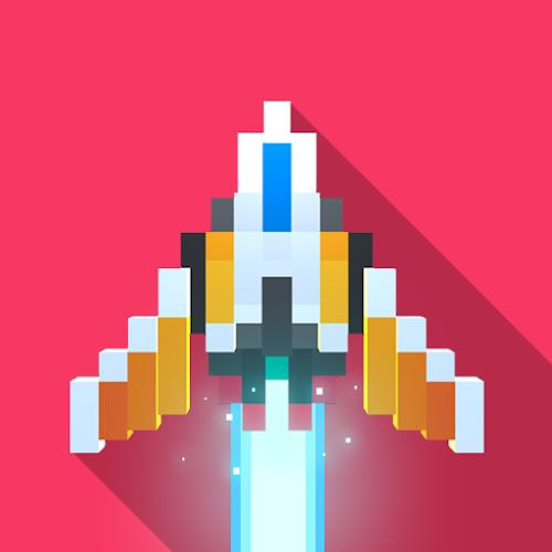 Sky Wings: Pixel Fighter 3D  (Free Shopping) 2.4.4 mod