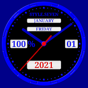 Animated Analog Clock-7