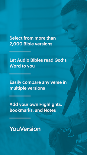 The Bible App Free + Audio, Offline, Daily Study poster