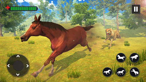 Wild Horse Family Simulator : Horse Games  screenshots 11