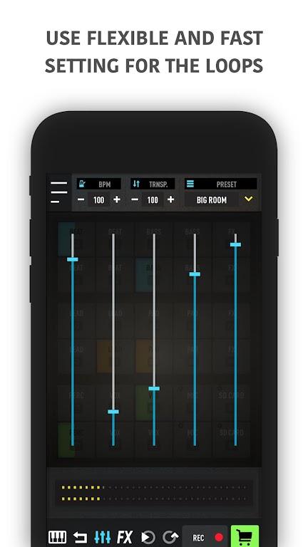 MixPads - Drum pad machine & DJ Audio Mixer  poster 4