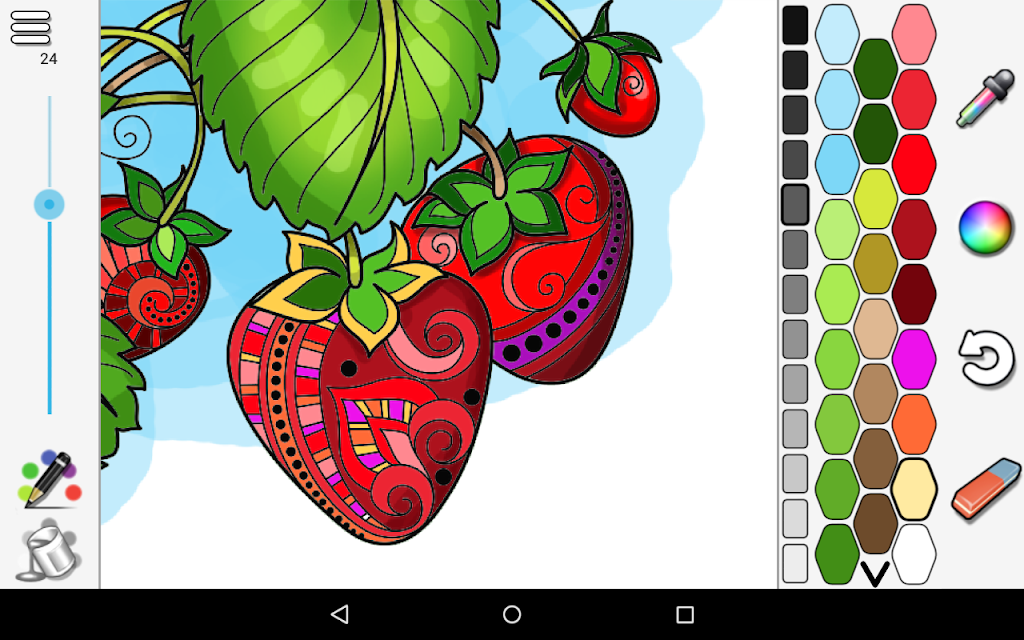 Coloring  poster 9