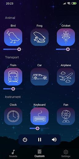 Sleep Sounds - Relax & Sleep, Relaxing sounds  Screenshots 8