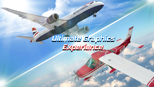 Flight Plane Simulator 3D : Airplane Flying Sim apktram screenshots 3