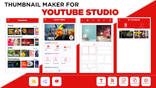Thumbnail Maker APK Create Banners & Channel Art 1