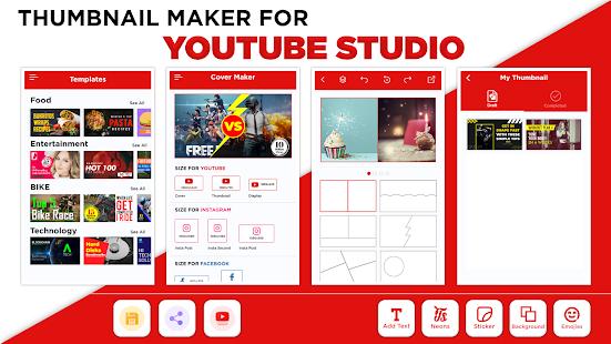 Thumbnail Maker - Create Banners & Channel Art 11.6.2 screenshots {n} 1