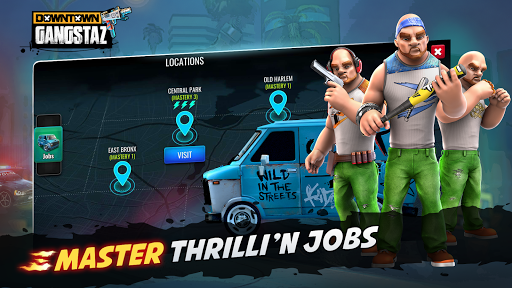 Downtown Gangstas: Gangster City - Hood Wars 0.4.12 screenshots 6