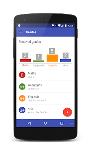 School-Organizer - Timetable, Tasks and Grades Screenshot