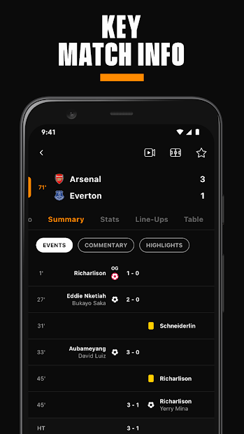 LiveScore: Live Sports Scores screenshot 6