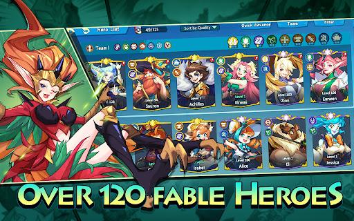 Hero Squad - Idle Adventure  screenshots 11