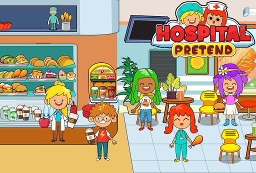 My Pretend Hospital - Kids Hospital Town Life apkpoly screenshots 8