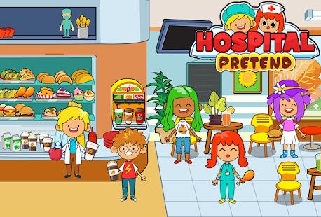 My Pretend Hospital - Kids Hospital Town Life 2.1 Screenshots 8