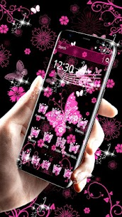 Pink Black Butterfly Theme For Pc, Windows 10/8/7 And Mac – Free Download 2