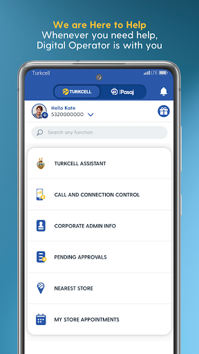 Turkcell Digital Operator - Transaction & Shopping android2mod screenshots 7
