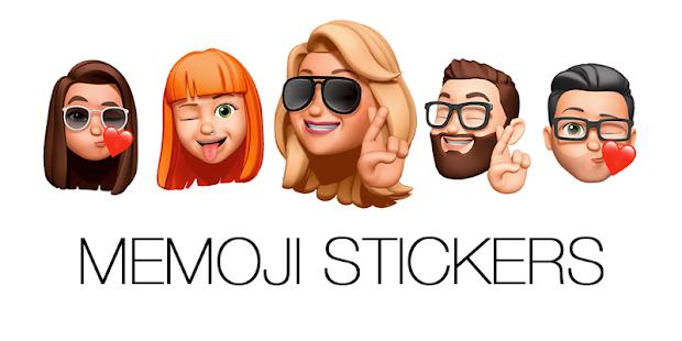 Memoji Emojis Stickers For WhatsApp WAStickerApps