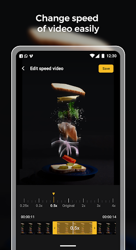 Slow motion - Speed up video - Speed motion 1.0.51 Screenshots 8