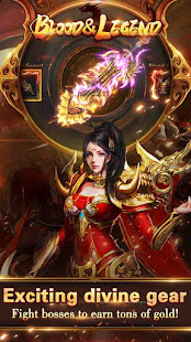 Blood & Legend:Dragon King League mobile idle game