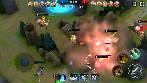 Masters Battle League 5v5 : Legend MOBA PvPTrainer screenshots 6