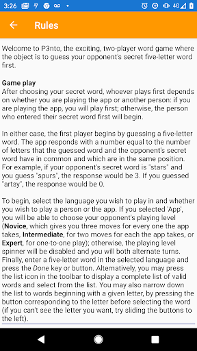 P3nto--The Five-Letter Word Game 2.299 screenshots 21
