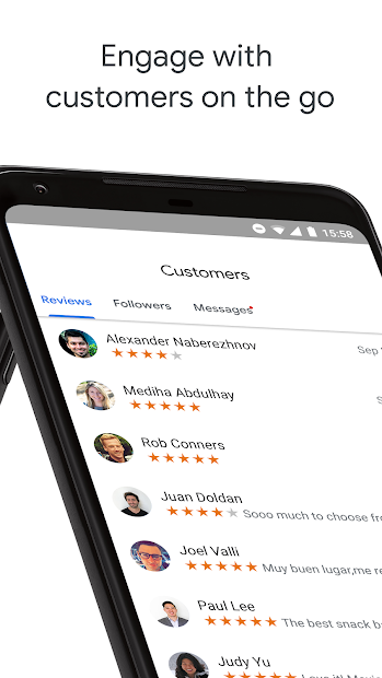 Google My Business - Connect with your Customers screenshot 2