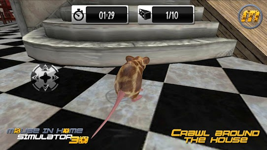 Mouse in Home Simulator 3D Mod Apk 2.9 (Unlimited Money, No Ads) 3