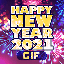 Happy New Year 2021 Cards GIF