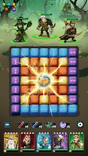 Fable Wars: Epic Puzzle RPG Mod Apk (Auto Win/No Ads) 4