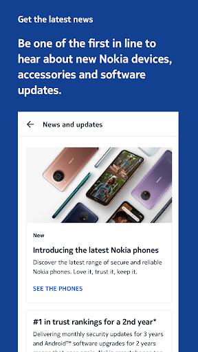 My phone: the official app for Nokia phones screenshots 2