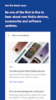 screenshot of My phone: the official app for Nokia phones