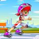 ローラースケートガール3D