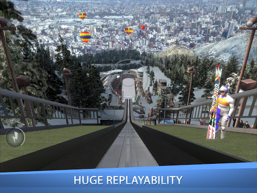 Ski Jumping Pro 1.9.9 Screenshots 4