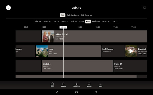 RTVE Play Apkfinish screenshots 8