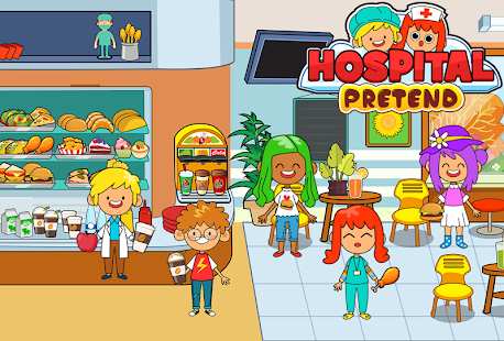 My Pretend Hospital - Kids Hospital Town Life 2.1 Screenshots 3