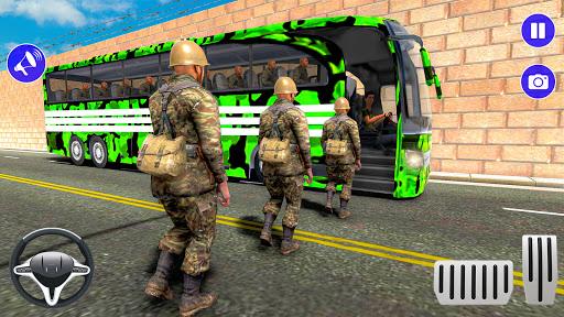 Army Bus Driver u2013 US Military Coach Simulator 3D apktram screenshots 17