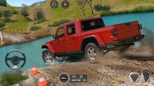 Offroad SUV Jeep Driving Games android2mod screenshots 3