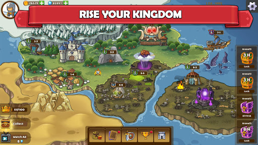 Clash of Legions - Kingdom Rise - Strategy TD 1.220 screenshots 4