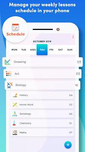 MySchedule: School Planner, Homework & Timetable