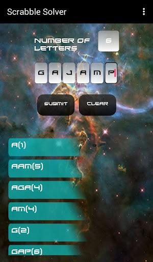 scrabble solver screenshot 3