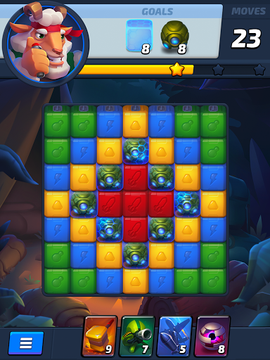 Rumble Blast u2013 3 in a row games & puzzle adventure 1.7 screenshots 16