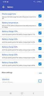 Notification Expert - Clock & Battery Alarm