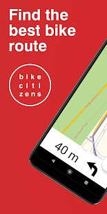 Bike Citizens - Cycling App: Cycle Maps & GPS Screenshot