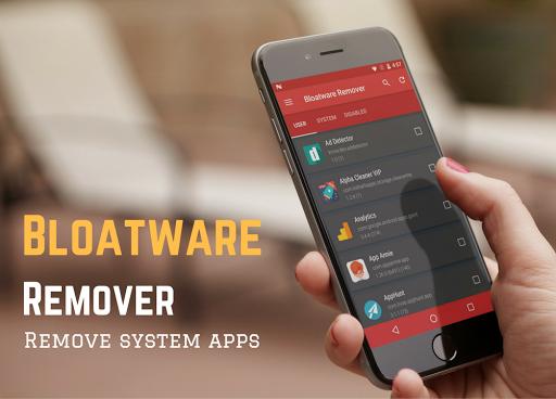 Bloatware Remover FREE [Root] 1.3.2.0 Screenshots 7