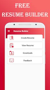 Resume Builder Free CV maker 2020 US