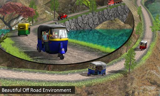 Tuk Tuk Auto Rickshaw Offroad Driving Games 2020 android2mod screenshots 5