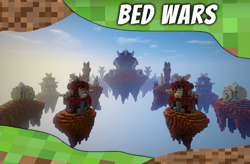 Maps BedWars for MCPE. Bed Wars Map. 2.1 de.gamequotes.net 2