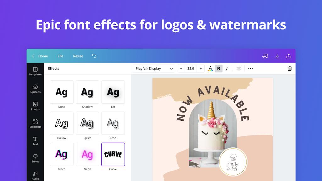 Canva: Graphic Design, Video Collage, Logo Maker poster 12